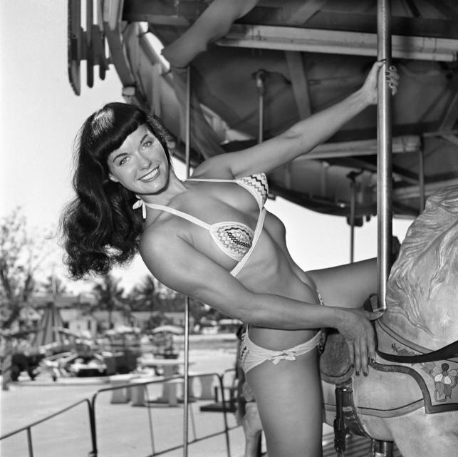 Bettie Page na zdjęciu z 1954 roku