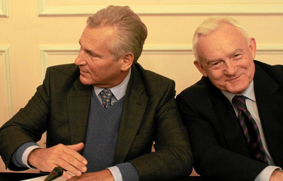 Aleksander Kwaśniewski i Leszek Miller