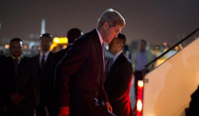 Szef amerykańskiej dyplomacji John Kerry