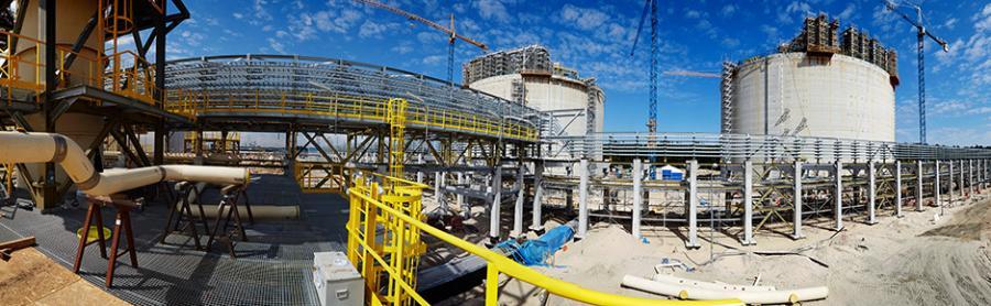 Budowa Gazoportu