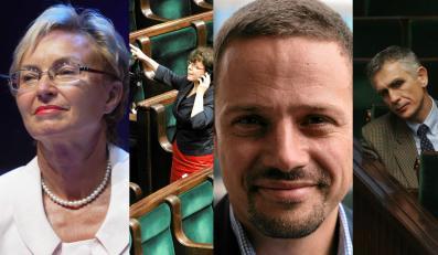 Lena Kolarska-Bobińska, Joanna Kluzik-Rostkowska, Rafał Trzaskowski, Maciej Grabowski