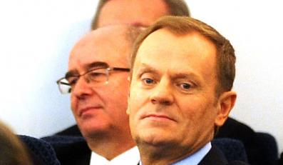 Andrzej Seremet i Donald Tusk
