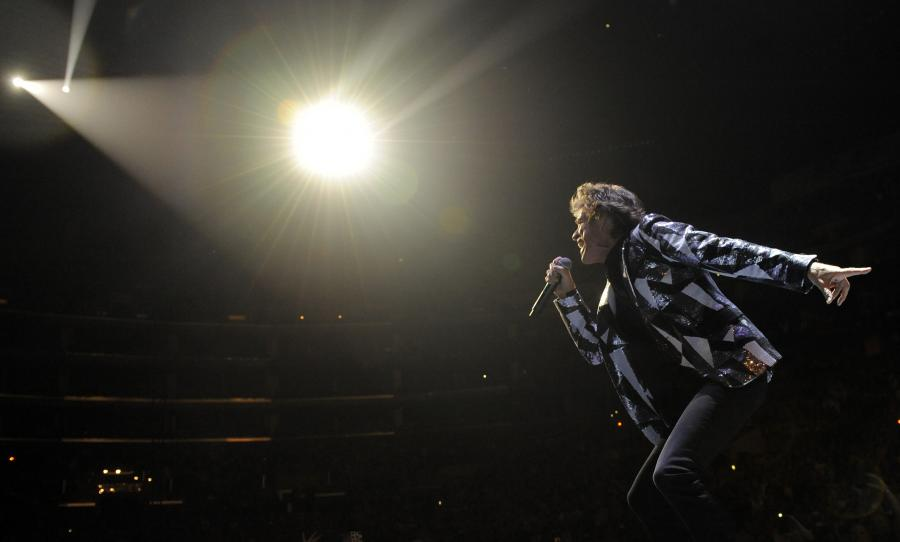 "The Rolling Stones na trasie ""50 and Counting"" – koncert w Los Angeles, 3 maja 2013"