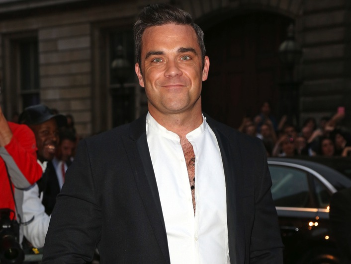 Robbie Williams – dumny tata