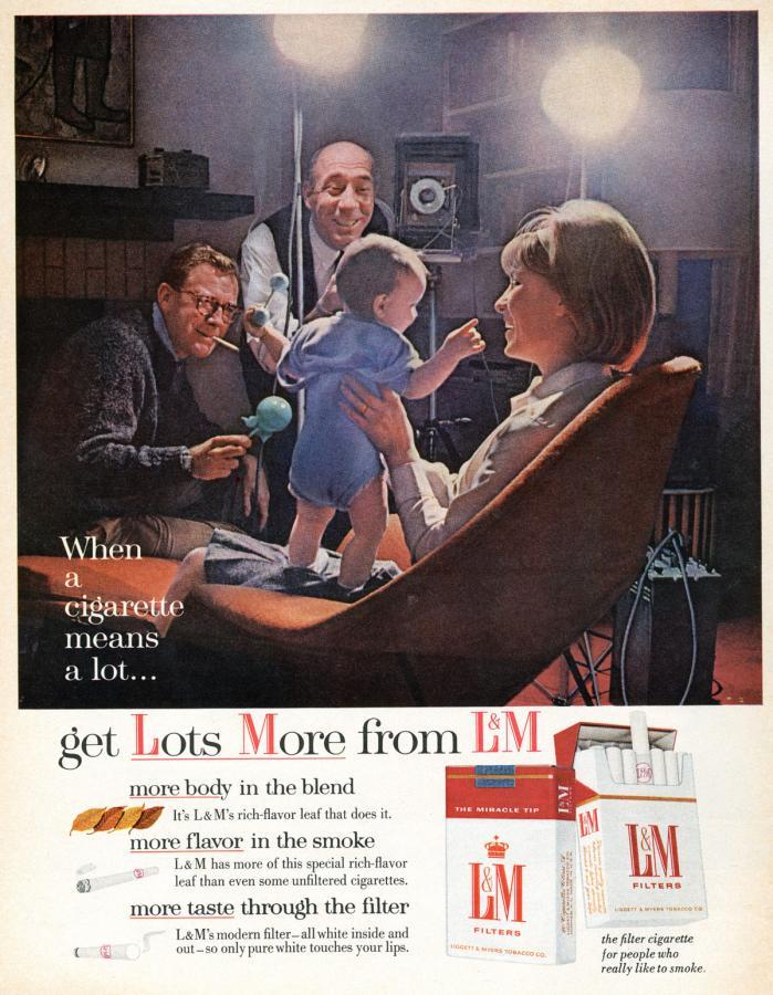 """Papierosy """"L&M"""" rok 1959"""