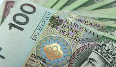 złoty banknoty stuzłotówka