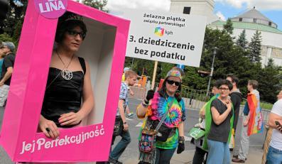 Jej Perfekcyjność na Paradzie Równości w Warszawie