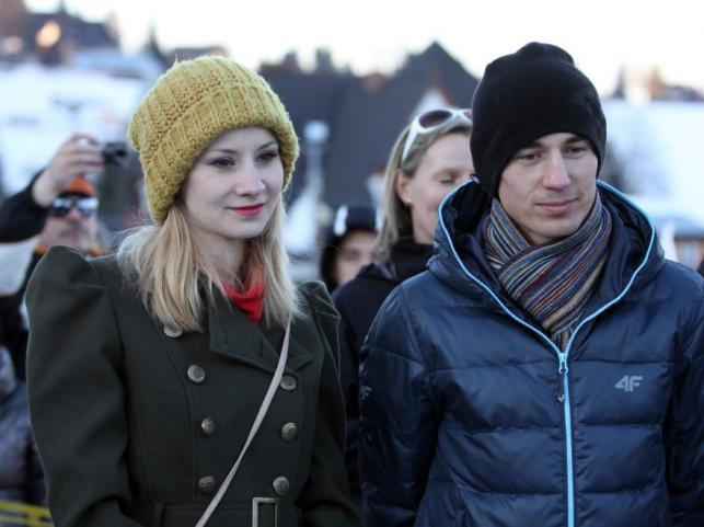 Ewa Bilan-Stoch i Kamil Stoch 4 marca 2013 r.