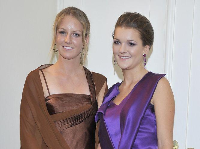 Urszula Radwańska i Agnieszka Radwańska