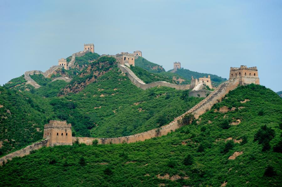 Wielki Mur, Chiny