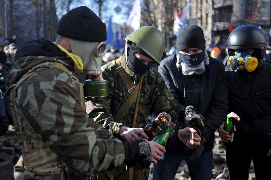 Starcia w Kijowie