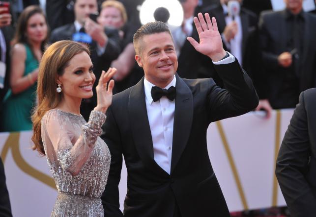 Angelina Jolie i Brad Pitt na gali Oscarów 2014