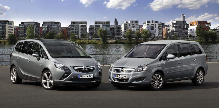 Opel zafira tourer i zafira family