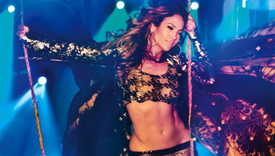 Jennifer Lopez przedstawia teledysk do \
