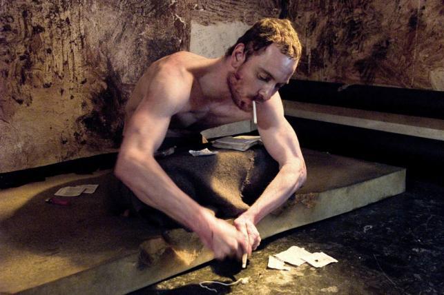"""Michael Fassbender (""""Głód"""")"""