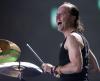 Lars Ulrich podczas koncertu w Asuncion w Paragwaju (24 marca 2014)