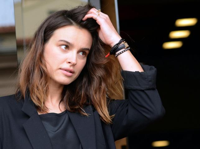 """Kasia Smutniak na konferencji prasowej filmu """"Caserta Palace Dream"""" w Rzymie"""