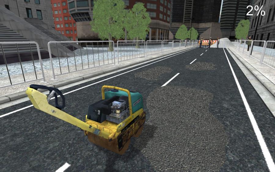 Symulator naprawy dróg