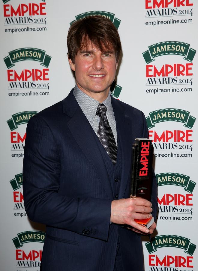 Tom Cruise uhonorowany Jameson Empire Awards 2014
