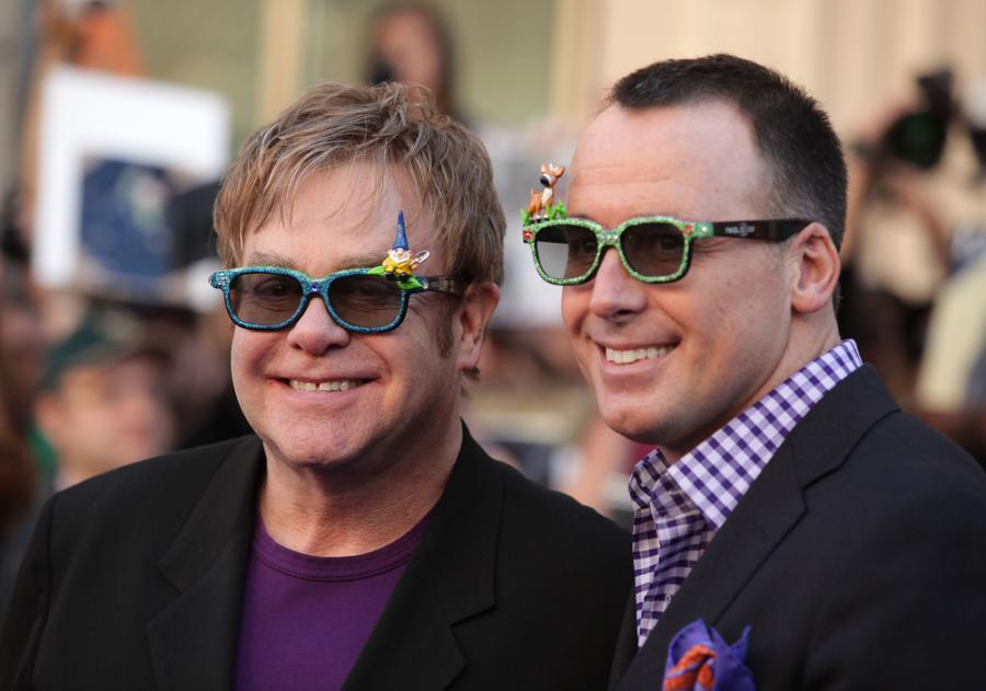 Elton John i David Furnish planują ślub
