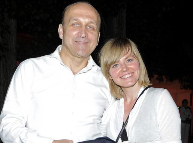 Kazimierz Marcinkiewicz z żoną Isabel