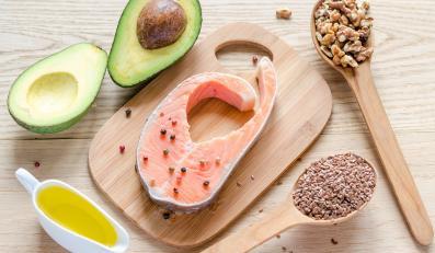 Produkty zawierające zdrowe kwasy tłuszczowe