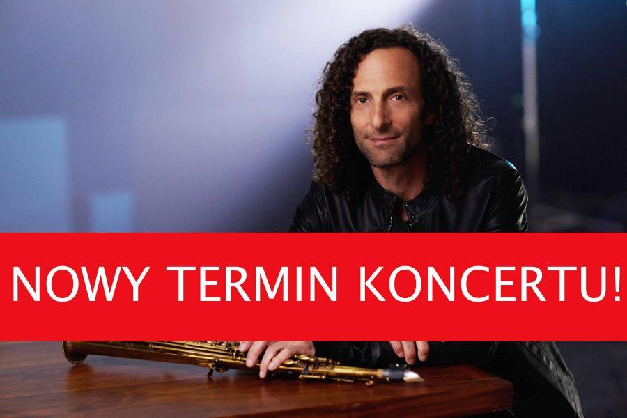 Kenny G w tym miesiącu w Warszawie