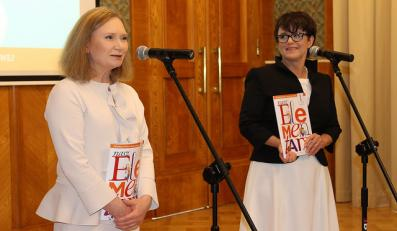 Maria Lorek i Joanna Kluzik-Rostkowska