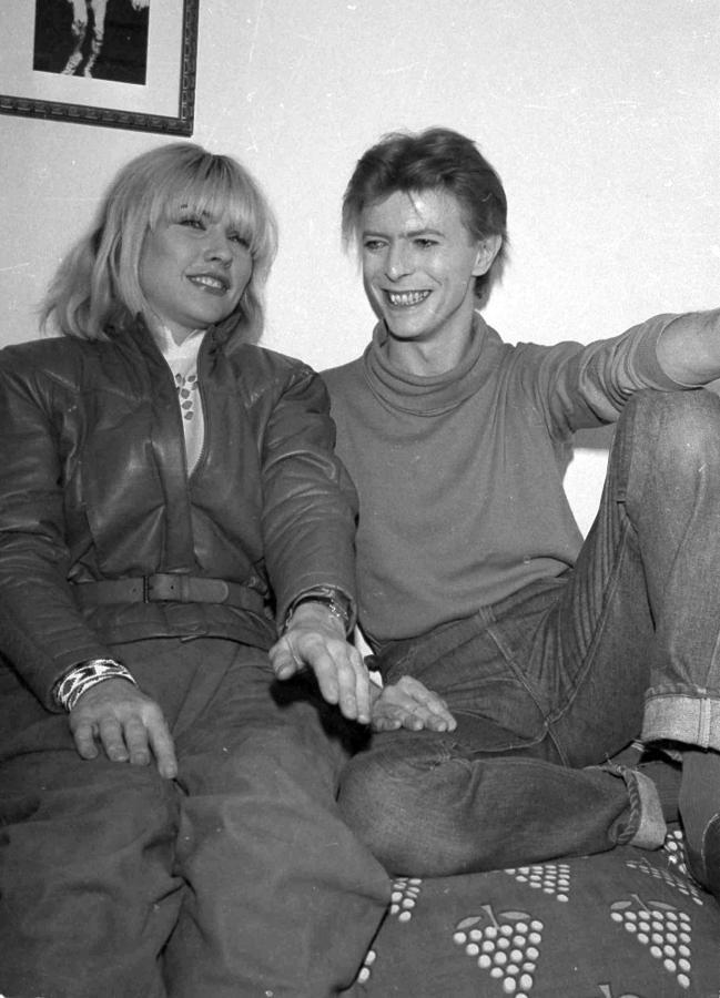 Deborah Harry i David Bowie w 1980 roku