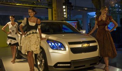Chevrolet Orlando - pomysł na transport 7 osób
