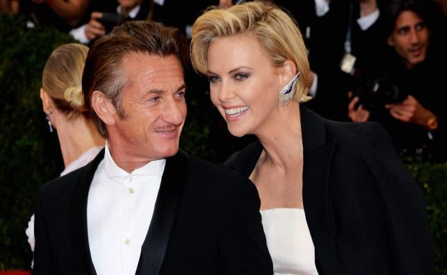 Charlize Theron i Sean Penn razem na gali MET