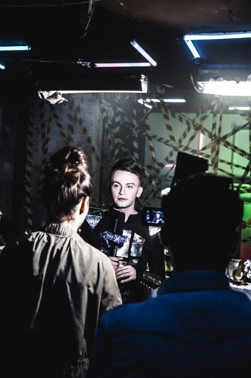 """ARO Kłusowski na planie klipu do piosenki """"Podpalimy miasta"""""""