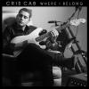 "Chris Cab na okładce albumu ""Where I Belong"""