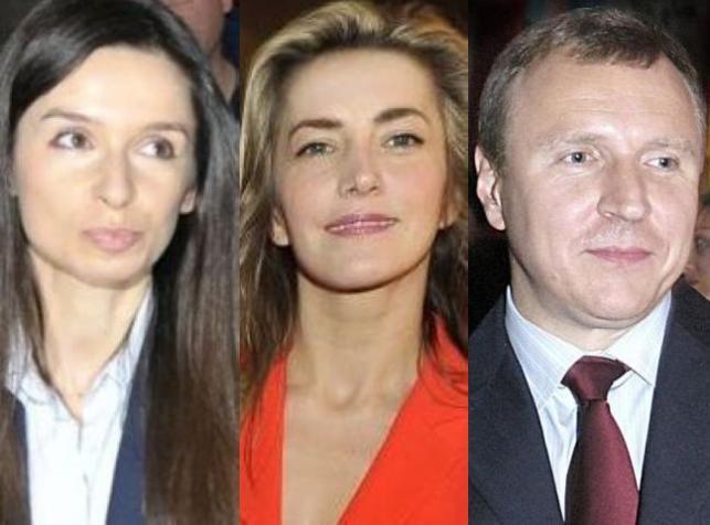 Marta Kaczyńska, Kamilla Baar, Jacek Kurski