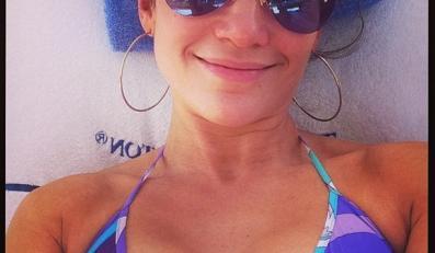 Jennifer Lopez bez grama makijażu