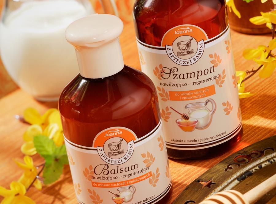 Z apteczki babuni: miód i mleko