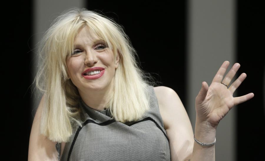 Courtney Love: Dostałam całą masę nagrań ślicznych blondynów