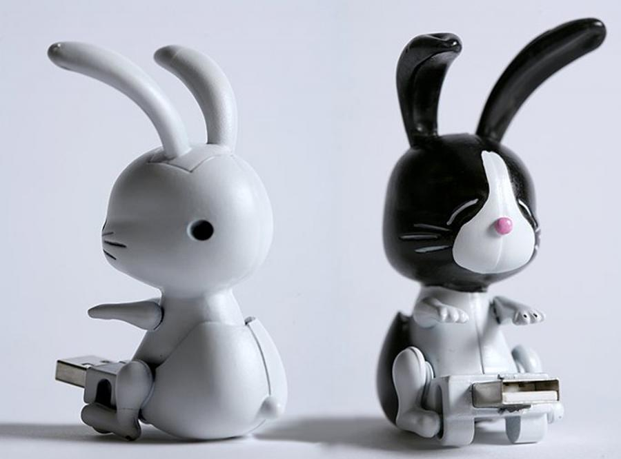 ... jak króliki na USB