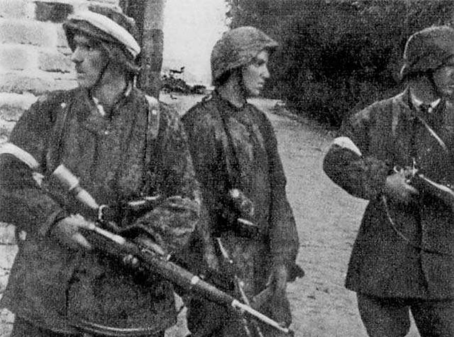 Patrol z II plutonu \