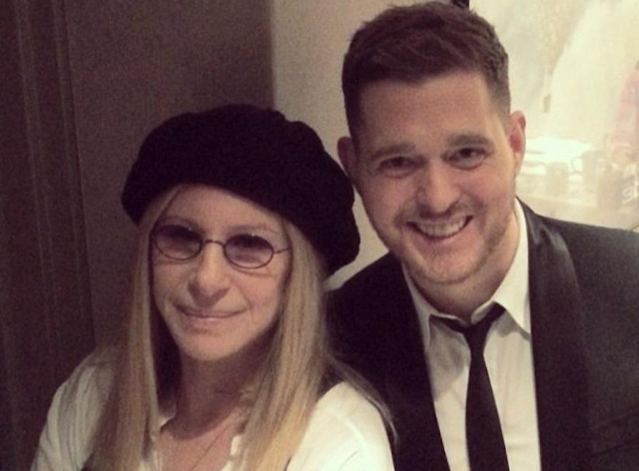 Michael Bublé w duecie z Barbrą Streisand