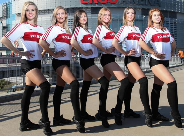 Polskie cheerleaderki robią furorę na mistrzostwach świata siatkarzy