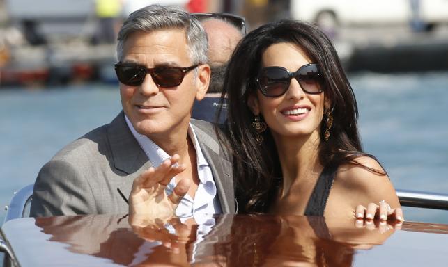 George Clooney i Amal Alamuddin wzięli ślub w Wenecji