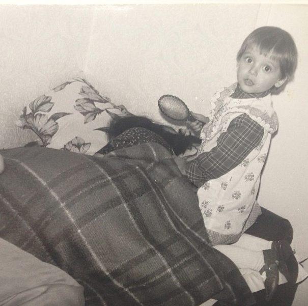 Anna Przybylska na zdjęciach z dzieciństwa