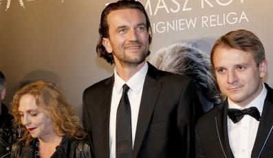 """Twórcy filmu """"Bogowie"""" na uroczystej premierze w Warszawie"""