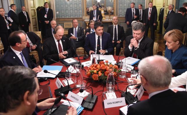 Spotkanie przywódców w Mediolanie