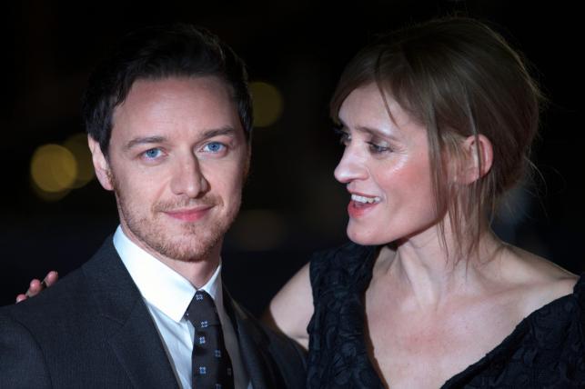 James McAvoy z żoną Anne-Marie Duff
