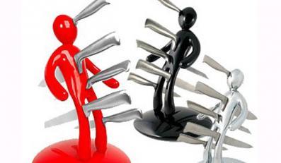 Czyż to nie najlepszy stojak na noże, jaki widziałaś w życiu?