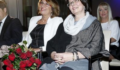 Iwona Lewandowska i Maria Stachurska