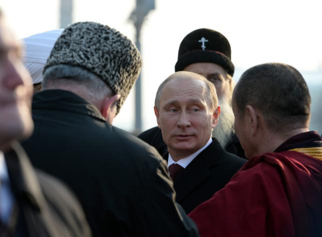 miejsce 1: Władimir Putin, prezydent Rosji