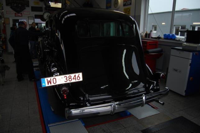 Cadillac 355D przeszedł przegląd techniczy